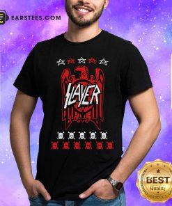 Slayer Eagle Skull Hoodie - Design By Earstees.com