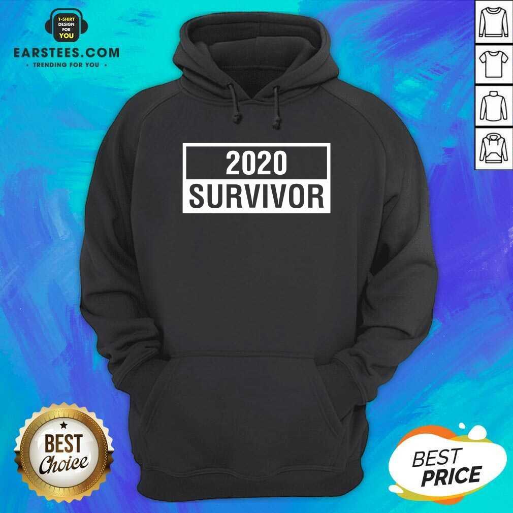 Hot 2020 Survivor Hoodie - Design By Earstees.com