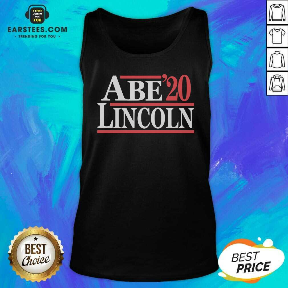 Hot Abe Lincoln 2020 Tank Top - Design By Earstees.com