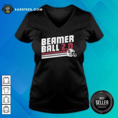 Beamer Ball South Carolina V-neck - Design By Earstees.com