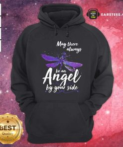 Dragonfly May There Always Be An Angel By Your Side Hoodie - Design By Earstees.com