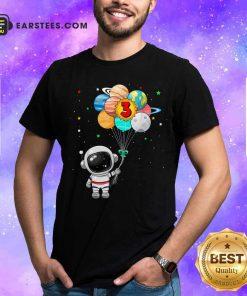 Happy 3rd Birthday Astronaut 3 Years Old Birthday Shirt - Design By Earstees.com