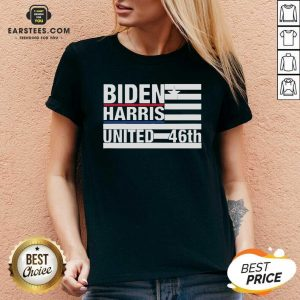 Joe Biden Kamala Harris 2020 46th President V-neck - Design By Earstees.com