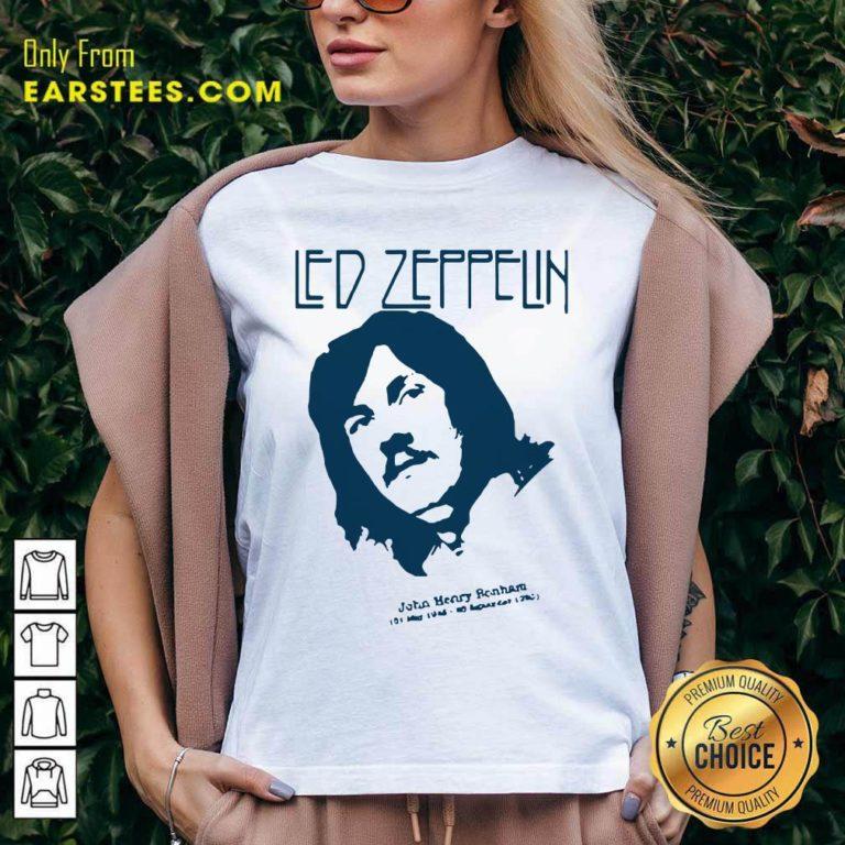 John Bonham Led Zeppelin V-neck- Design By Earstees.com