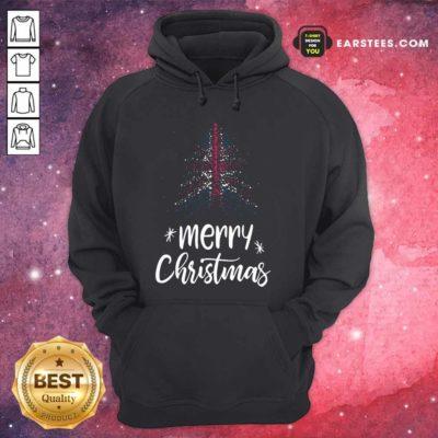 Merry Christmas English Hoodie - Design By Earstees.com