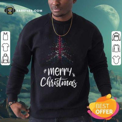 Merry Christmas English Sweatshirt - Design By Earstees.com