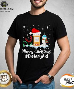 Nurse Santa Vaccine Merry Christmas #Dietary Aid Shirt - Design By Earstees.com