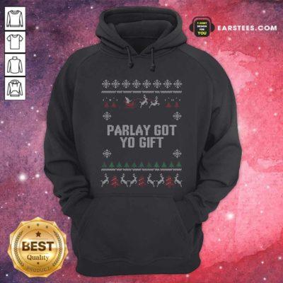 Parlet Got Yo Gift Ugly Christmas Hoodie - Design By Earstees.com