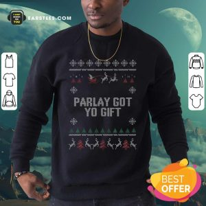Parlet Got Yo Gift Ugly Christmas Sweatshirt - Design By Earstees.com