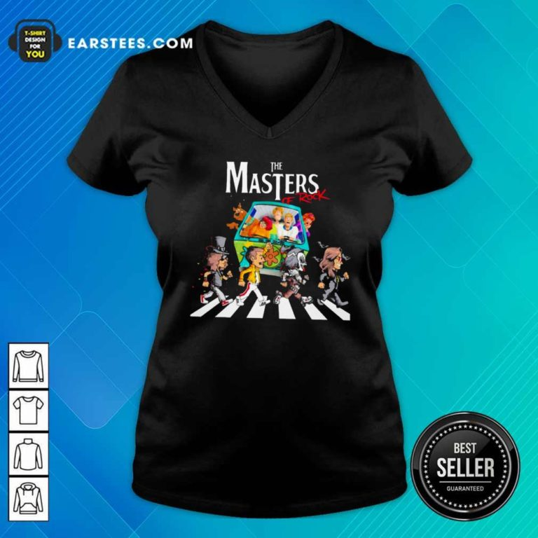 The Masters Of Rook V-neck - Design By Earstees.com