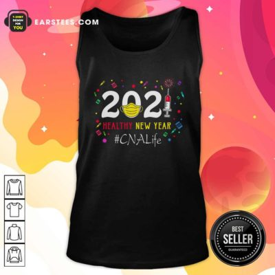 2020 Mask Vaccine Healthy New Year Cna Life Tank Top - Design By Earstees.com