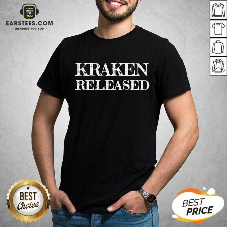 Nice Kraken Released Shirt - Design By Earstees.com