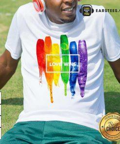 LGBT Love Wins Shirt - Design By Earstees.com