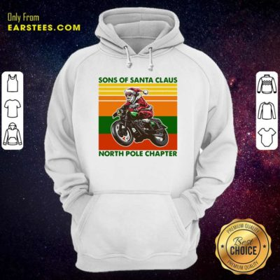 Motorcycle Sons Of Santa Claus North Pole Chapter Christmas Hoodie - Design By Earstees.com