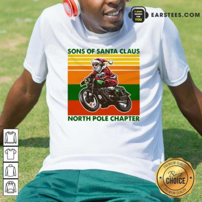 Motorcycle Sons Of Santa Claus North Pole Chapter Christmas Shirt - Design By Earstees.com