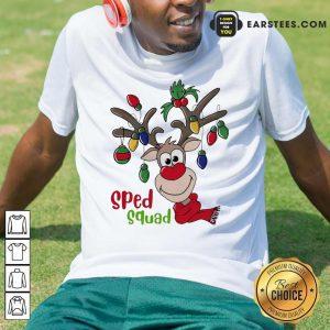 Reindeer Sped Squad Christmas Hoodie - Design By Earstees.com