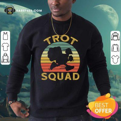 Trot Squad Thanksgiving Turkey Trot Costume Vintage Sweatshirt - Design By Earstees.com