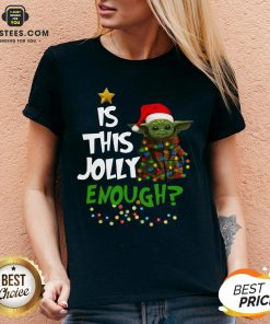 Official Baby Yoda Is This Jolly Enough Merry Christmas Shirt - Design By Earstees.com