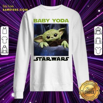 Baby Yoda Star Wars Sweatshirt - Design By Earstees.com
