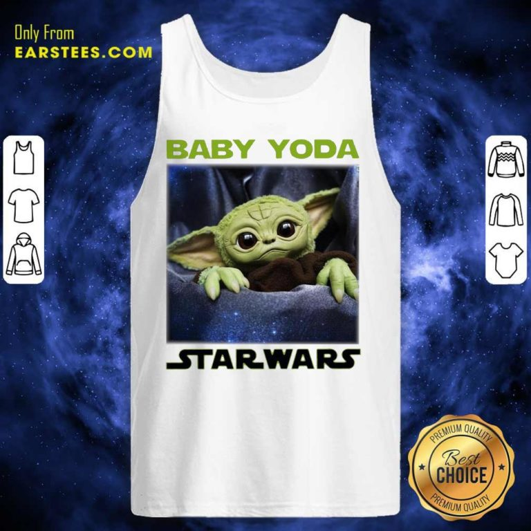 Baby Yoda Star Wars Tank Top - Design By Earstees.com