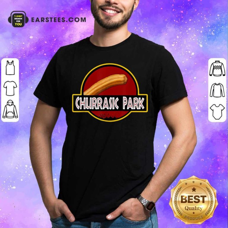 Churrasic Park Monster Churro Funny Mexican Shirt - Design By Earstees.com