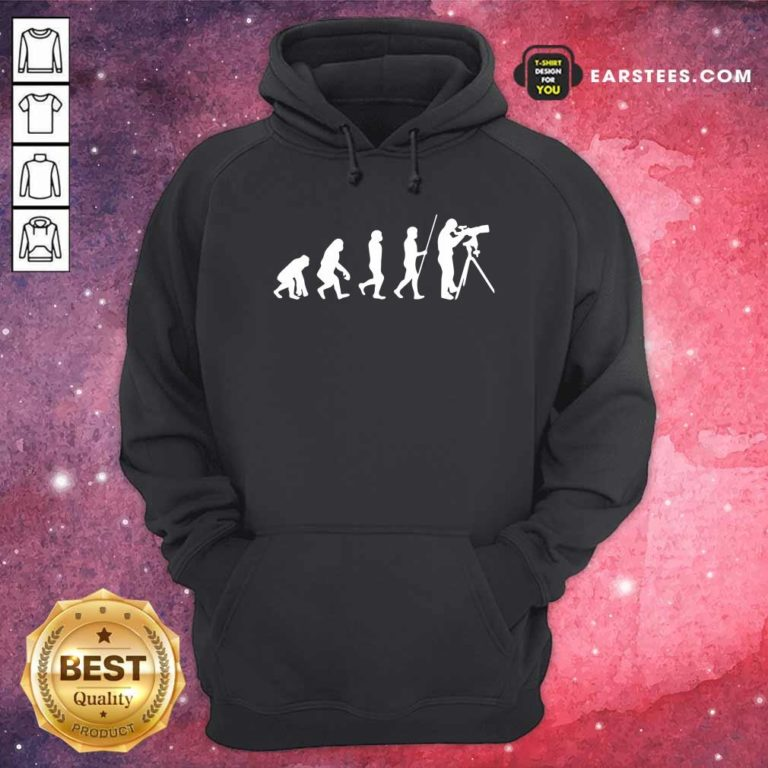 Evolution Of Astronomer Hoodie - Design By Earstees.com