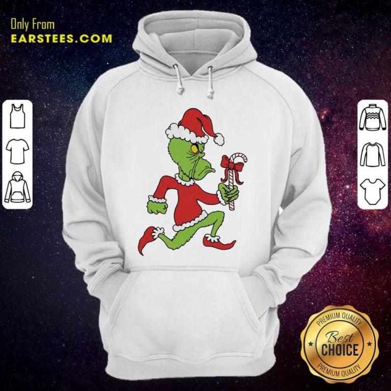 Grinch Merry Fucking Xmas Christmas Hoodie - Design By Earstees.com