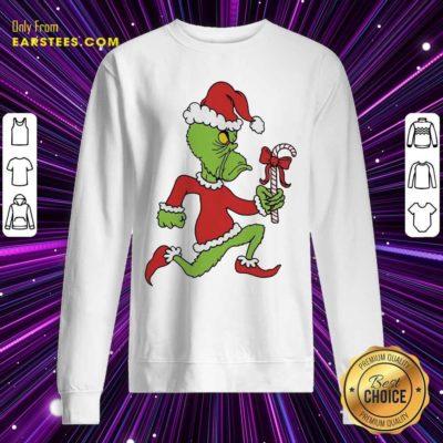 Grinch Merry Fucking Xmas Christmas Sweatshirt - Design By Earstees.com