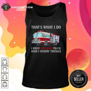 The Wee Woo Truck Is Calling And I Must Go Tank Top - Design By Earstees.com