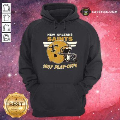 1987 New Orleans Saints Playoffs Vintage Hoodie - Design By Earstees.com