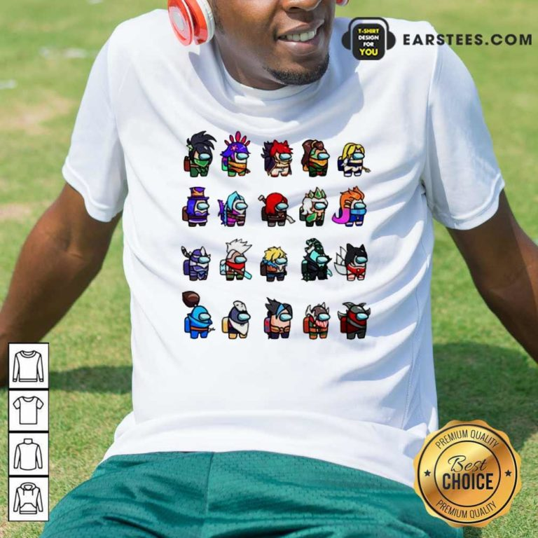 Among Us X League Of Legends Games Shirt - Design By Earstees.com