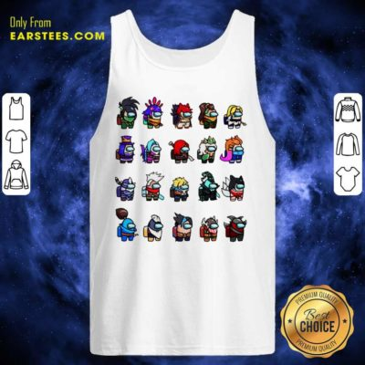Among Us X League Of Legends Games Tank Top - Design By Earstees.com