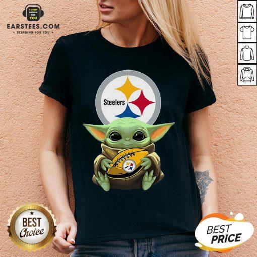 Original Baby Yoda Rugby Steelers Shirt - Design By Earstees.com
