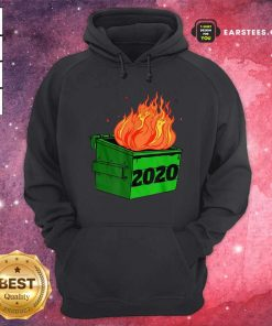 Dumpster Fire 2020 Sucks Funny Trash Garbage Fire Worst Year Premium Hoodie - Design By Earstees.com