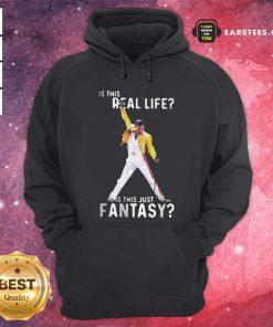 Freddie Mercury Is This Real Life Is This Just Fantasy Hoodie - Design By Earstees.com