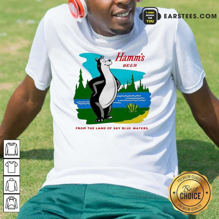 Hamm's Beer From The Land Of Sky Blue Waters Shirt - Design By Earstees.com