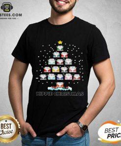 Original Hippie Bus Tree Christmas Shirt- Design By Earstees.com