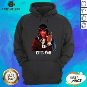 Original King Von RIP Hoodie- Design By Earstees.com