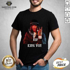 Original King Von RIP Shirt - Design By Earstees.com