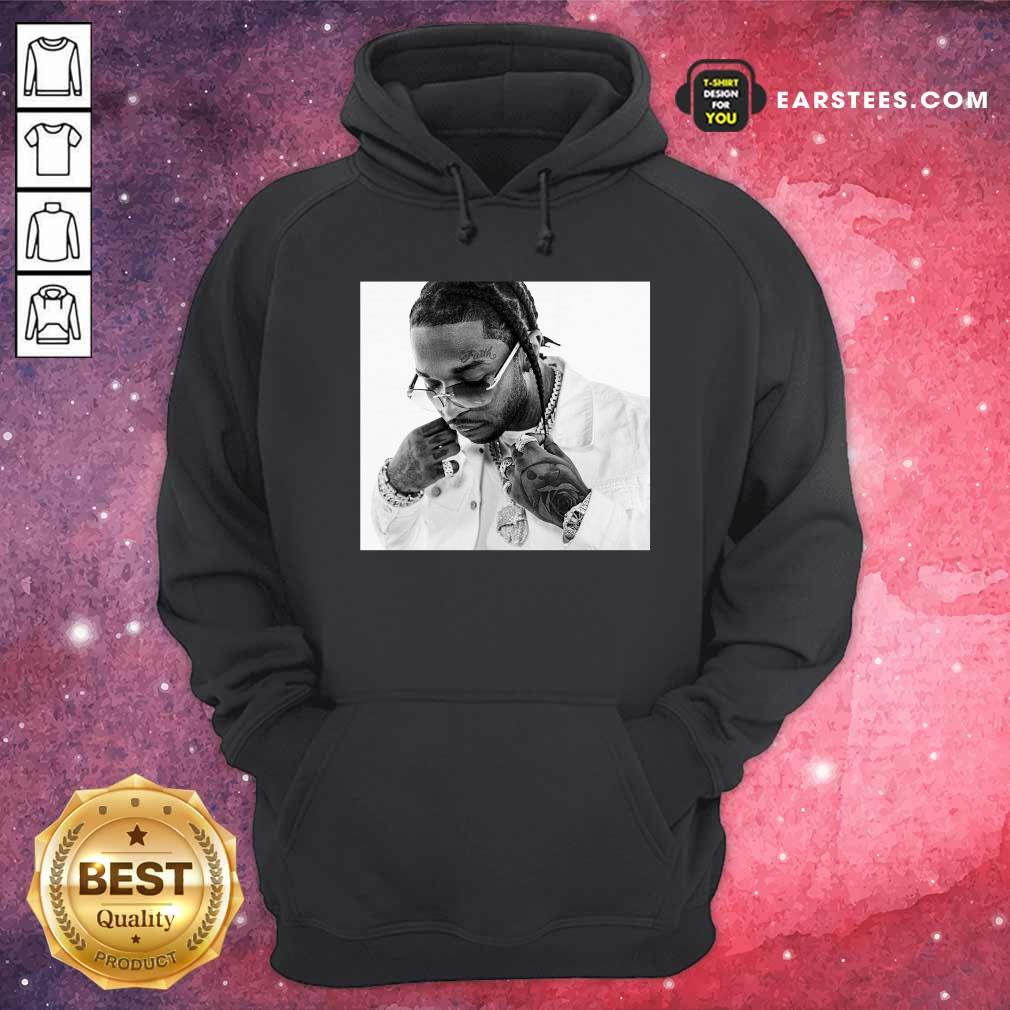 Rip Pop Smoke 2020 Hoodie - Design By Earstees.com