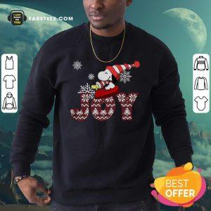Snoopy Joy Merry Christmas Sweatshirt - Design By Earstees.com