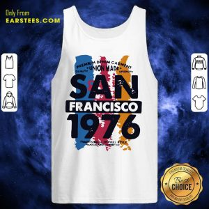 Union Made San Francisco 1076 Tank Top - Design By Earstees.com