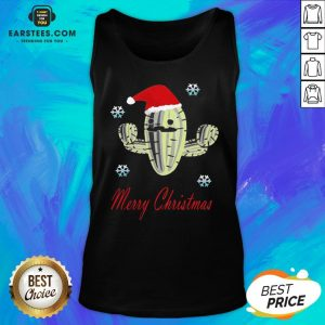 Perfect Cactus Santa Merry Christmas Succulent Plants Tank Top - Design By Earstees.com