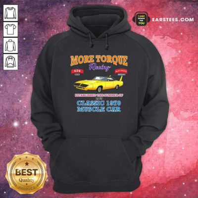 Classic Muscle Car Torque Garage Hot Rod Hoodie - Design By Earstees.com