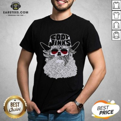 Premium Cody Jinks Hippies And Cowboys Shirt- Design By Earstees.com