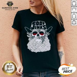 Premium Cody Jinks Hippies And Cowboys V-neck - Design By Earstees.com