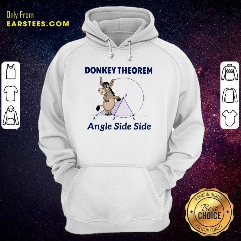 Donkey Theorem Angle Side Side Hoodie - Design By Earstees.com