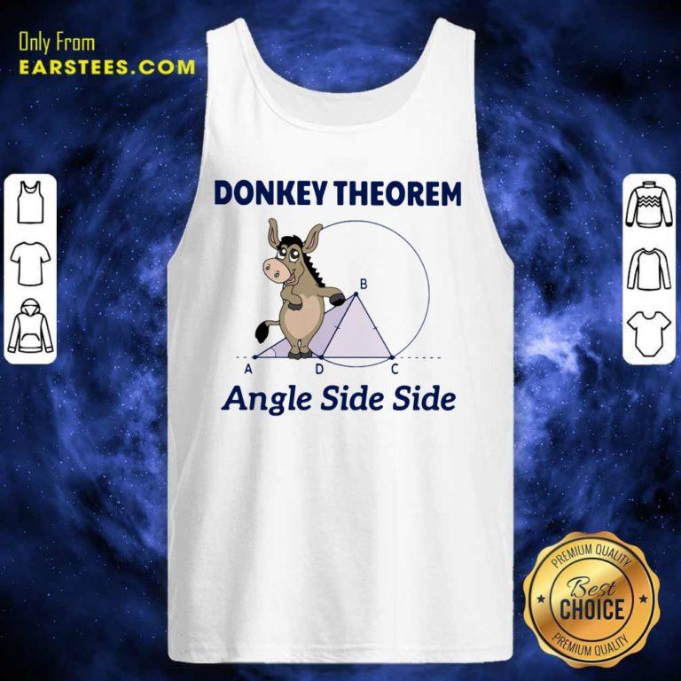 Donkey Theorem Angle Side Side Tank Top - Design By Earstees.com