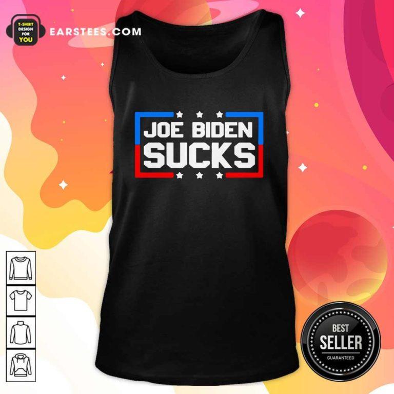 Joe Biden Sucks 2020 Anti Creepy Joe Donald Trump Republican Election Tank Top - Design By Earstees.com