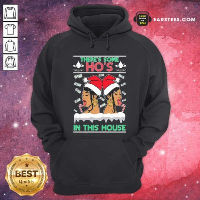 There's Some Hos In This House Unisex Hoodie - Design By Earstees.com
